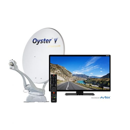 Oyster V Premium Satellite System with TV